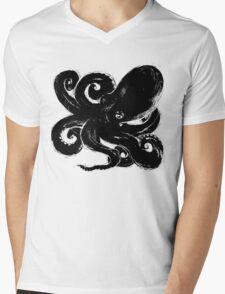 Inktopus - Sumi Octopus Mens V-Neck T-Shirt