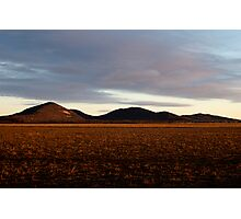 You Yangs Sunrise Photographic Print