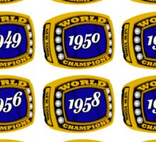27 Time Champions Sticker