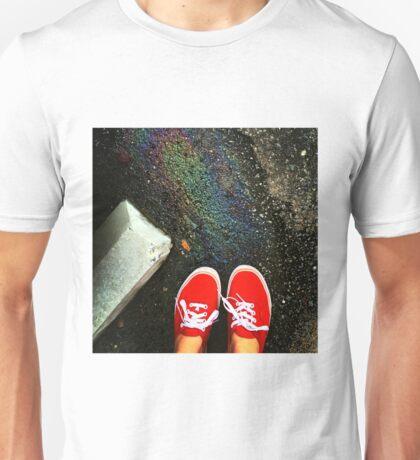 Greasy Rainbow  Unisex T-Shirt