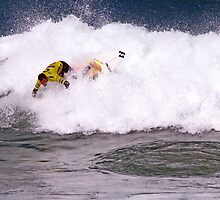 Joel Parkinson wins 2009 Rip Curl Pro at Bells Beach by Andy Berry