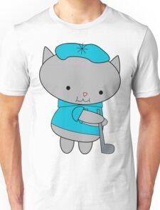 Golfer Cat Unisex T-Shirt