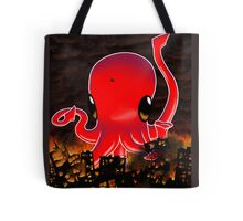 Octopus Destroying a City No. 2 Tote Bag