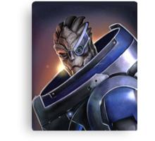 Mass Effect - Garrus Vakarian Portrait Canvas Print