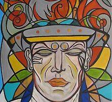 the aztec warrior by NVJasmin