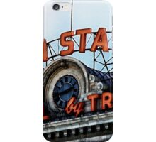 Union Station - Travel by Train iPhone Case/Skin