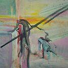 Technicolour Crucifixion by Clovix