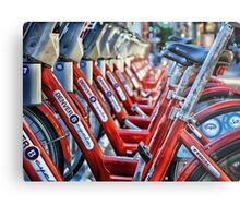 Denver B Cycles Metal Print