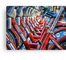 Denver B Cycles Canvas Print
