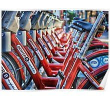 Denver B Cycles Poster