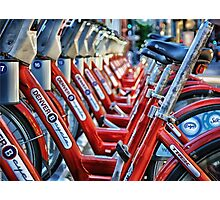 Denver B Cycles Photographic Print