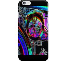 abstract engine iPhone Case/Skin