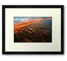 Grand Prismatic Abstract Framed Print