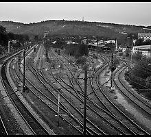 Germany, Tubingen station. by julienpz