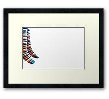 United colors of Eli . Framed Print