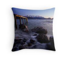 Cool Dawn Landing Throw Pillow