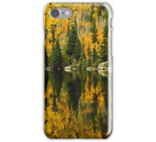 Autumn Reflections at Bear Lake iPhone Case/Skin