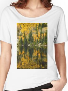Autumn Reflections at Bear Lake Women's Relaxed Fit T-Shirt