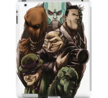 Asylum Villains   iPad Case/Skin