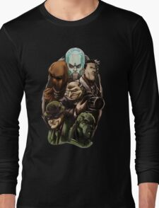 Asylum Villains   Long Sleeve T-Shirt