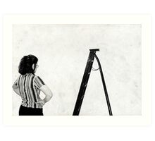 Men at Work ll Art Print