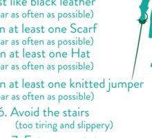 10 Slippy Steps ~ Burketeer Sticker