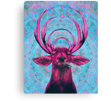 Dope Deer 2 Canvas Print