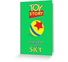 Toy Story Greeting Card