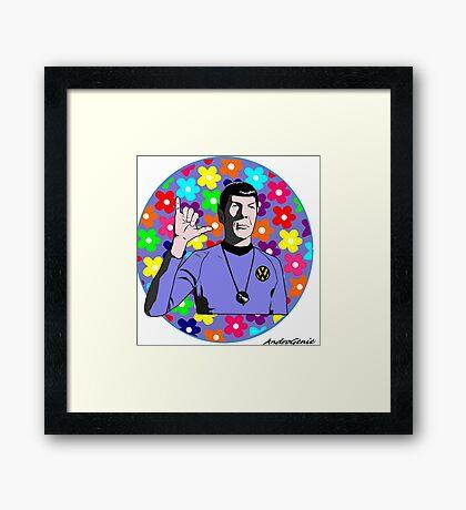 VW Spock  Framed Print