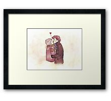 Smoooch Framed Print