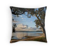 Wallis Lake paradise Throw Pillow