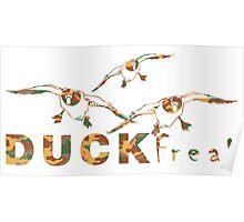 DUCK FREAK Poster