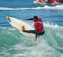 Jihad Khodr in 2009 Rip Curl Pro at Bells Beach by Andy Berry