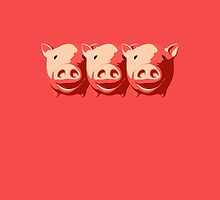 three little pigs by Totazo