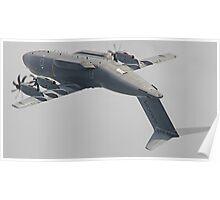 Airbus A400M Atlas Valedation Flight - Farnborough 2014 Poster