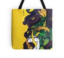 Mary Anoints Tote Bag
