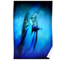 Blue Guardian Angel  Poster
