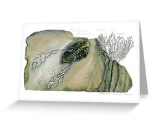 Mythical Flying Trilobite Fossil III Greeting Card