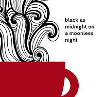 Twin Peaks - Coffe - Black as Midnight by pithypenny