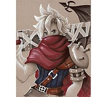 Toned Paper Cloud Strife Photographic Print