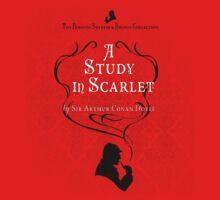 Sherlock Holmes - A Study in Scarlet One Piece - Short Sleeve