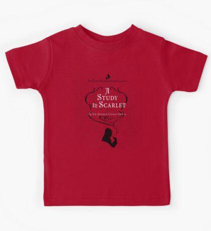 Sherlock Holmes - A Study in Scarlet Kids Tee