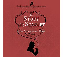 Sherlock Holmes - A Study in Scarlet Photographic Print