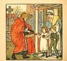 Walter Crane's Painting Book 1889 28 - Hot Cross Buns Color by wetdryvac