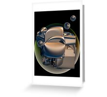 Different worlds Greeting Card