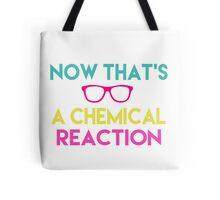 Chemical Reaction Tote Bag