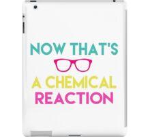 Chemical Reaction iPad Case/Skin