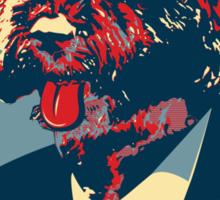 Bo Obama - The President Dog! Sticker
