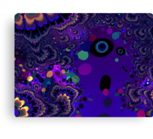 My Mind is Going. I Can Feel It. - Psychedelic Visionary Art Canvas Print