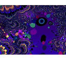 My Mind is Going. I Can Feel It. - Psychedelic Visionary Art Photographic Print